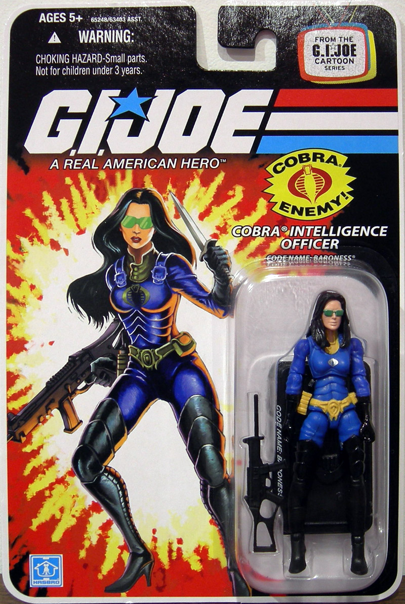 Cobra Intelligence Officer (Code Name: Baroness, Cartoon Series)