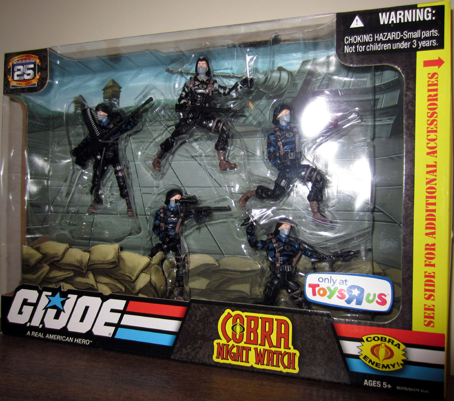 Cobra Night Watch 5-Pack (25th Anniversary)