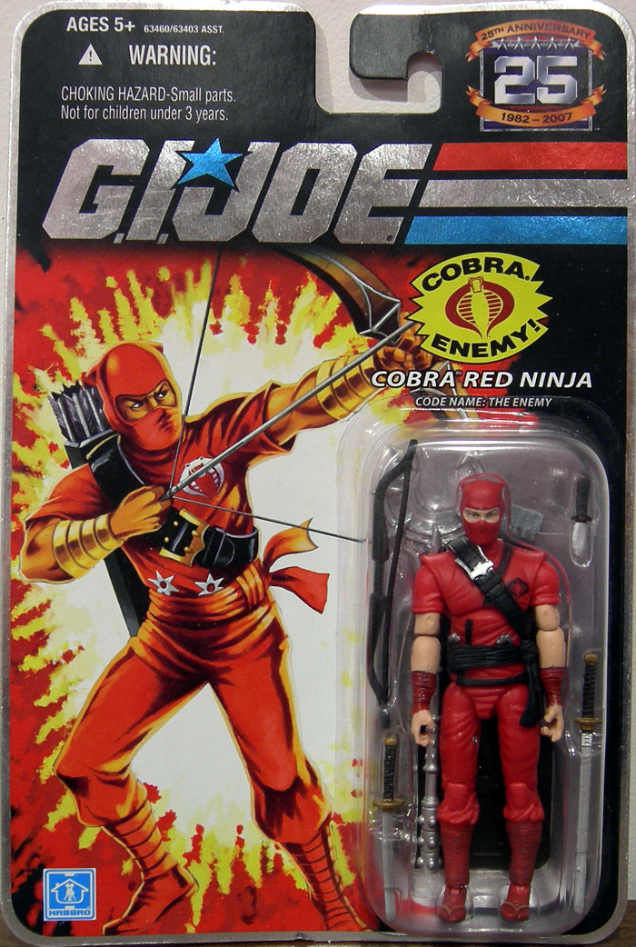 Cobra Red Ninja (Code Name: The Enemy)