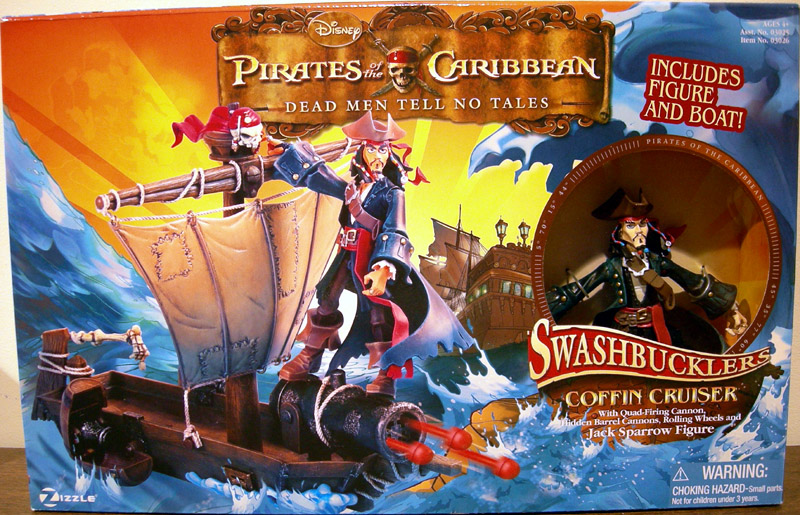 Coffin Cruiser with Jack Sparrow (Swashbucklers)