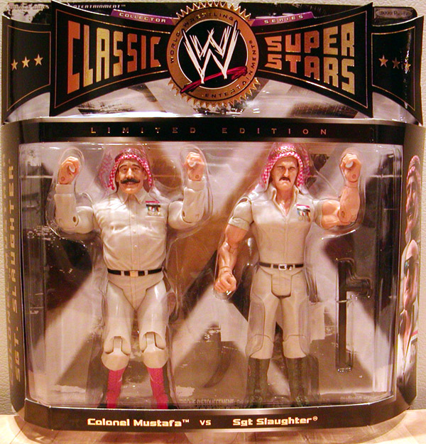 Colonel Mustafa vs. Sgt. Slaughter
