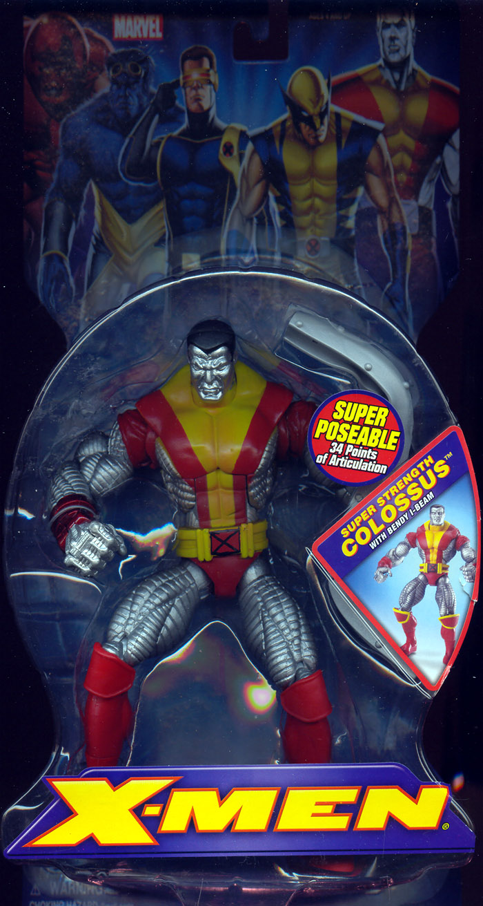 Super Strength Colossus with Bendy I-Beam (X-Men)