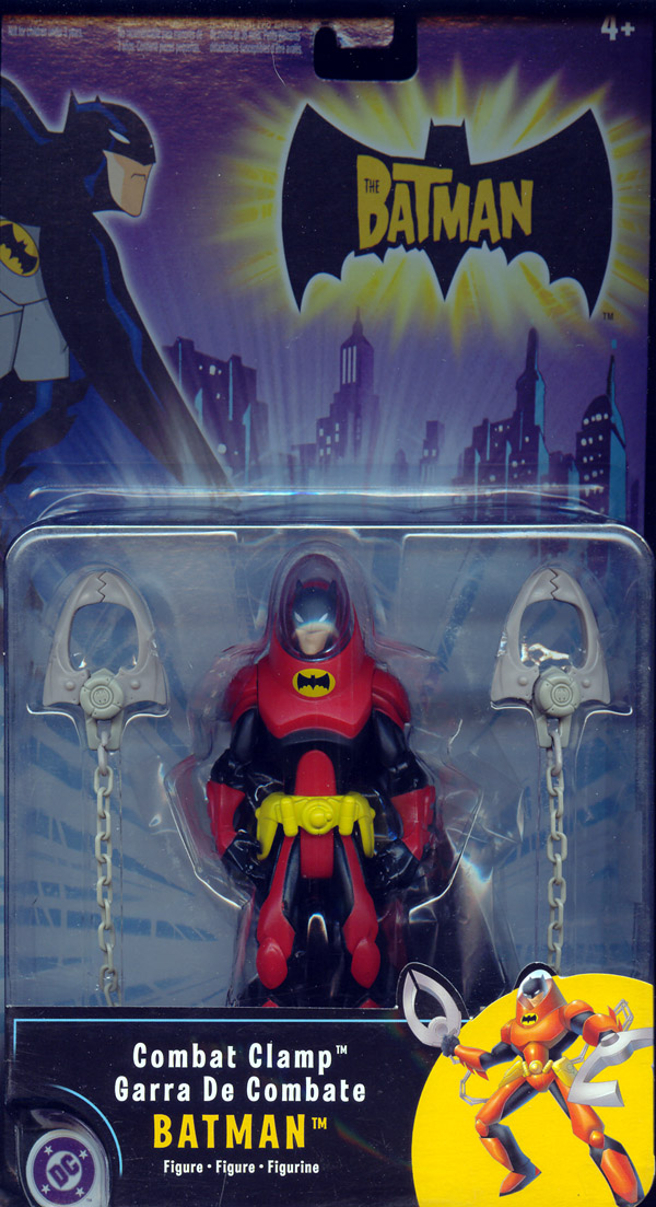 Combat Clamp Batman (The Batman)