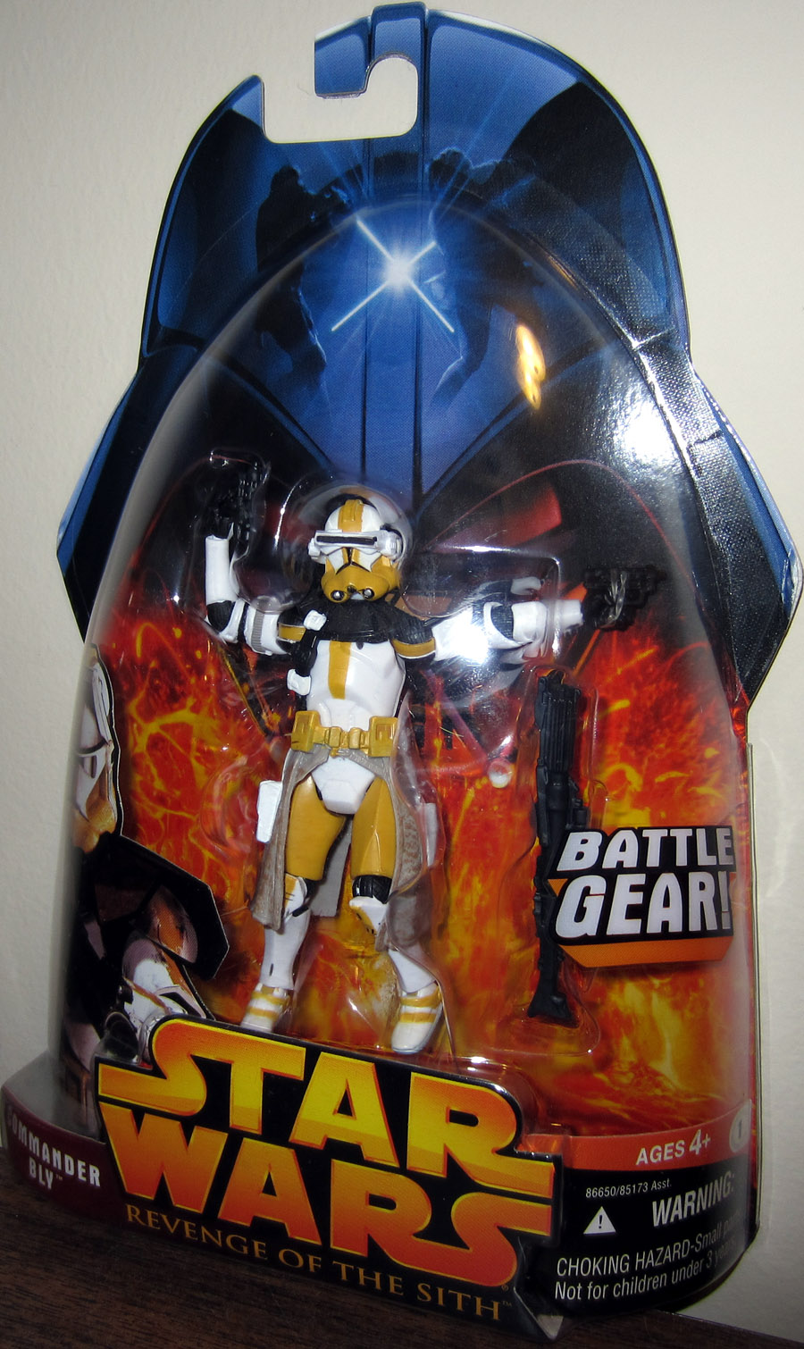 Commander Bly (Revenge of the Sith, #57, yellow underarm stripes)