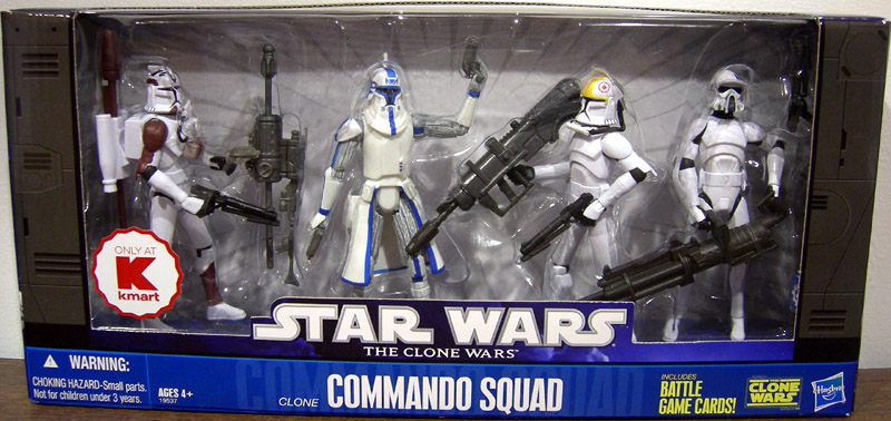 Clone Commando Squad 4-Pack