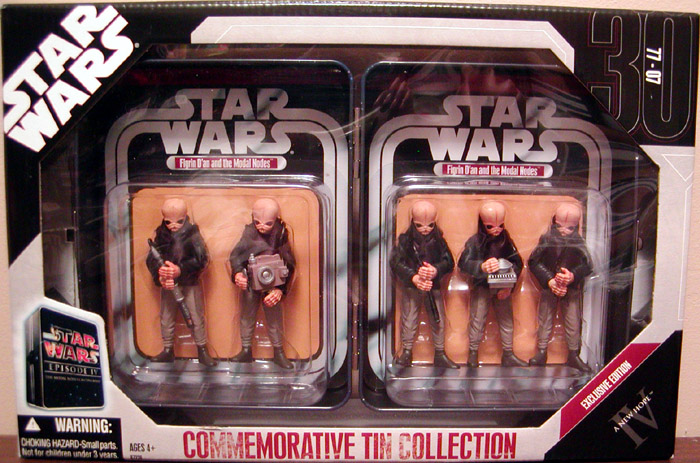 Commemorative Tin Collection 5-Pack Exclusive Modal Nodes Cantina Band