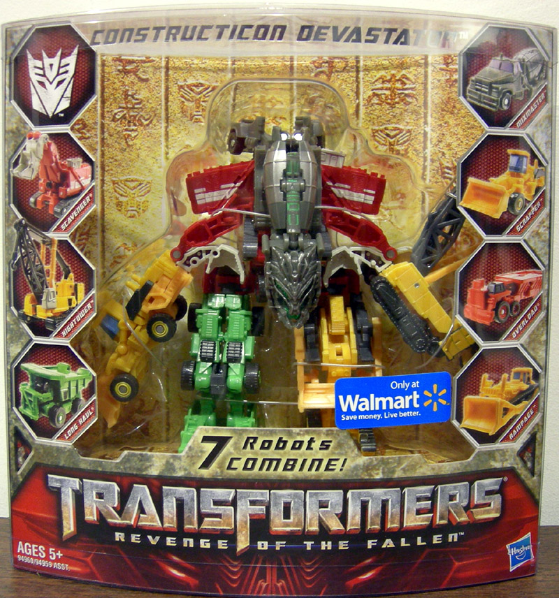Constructicon Devastator (Legends Class, Walmart Exclusive)