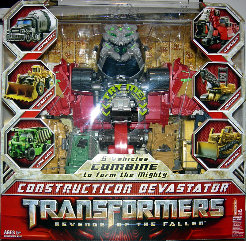 Constructicon Devastator (Revenge of The Fallen, Supreme Class)