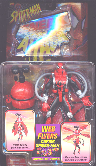 Copter Spider-Man with Web Copter Flyer (Sneak Attack, Web Flyers)