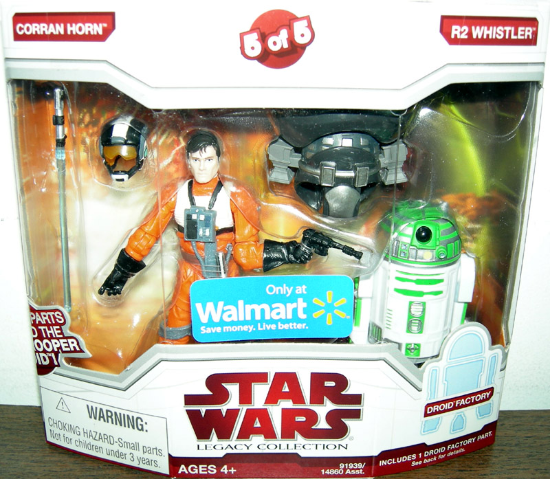 Corran Horn & R2 Whistler (5 of 5, Walmart Exclusive)