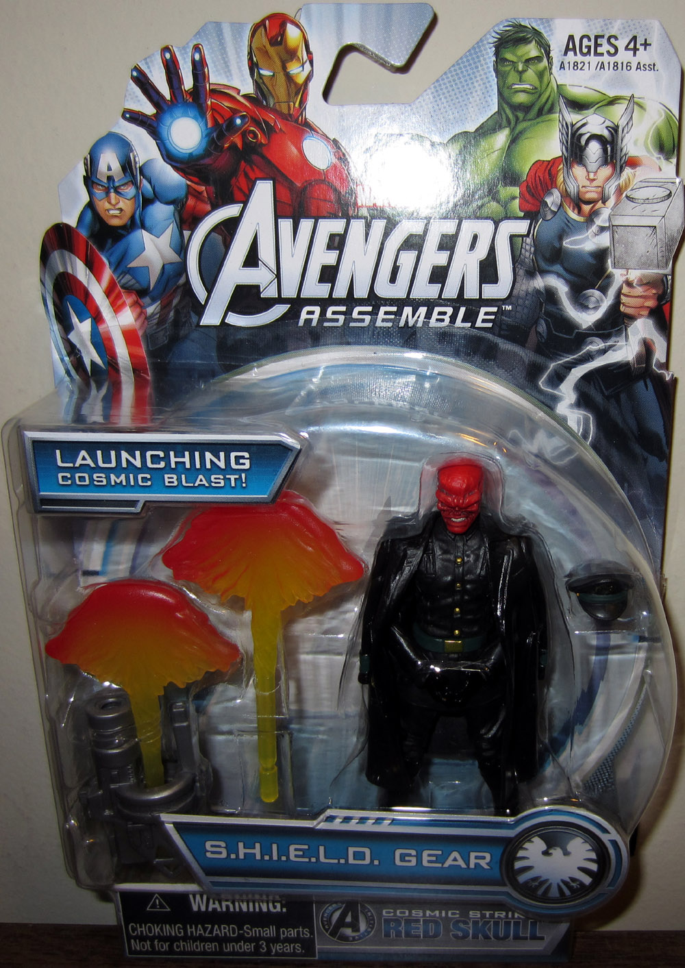 Cosmic Strike Red Skull (Avengers Assemble)