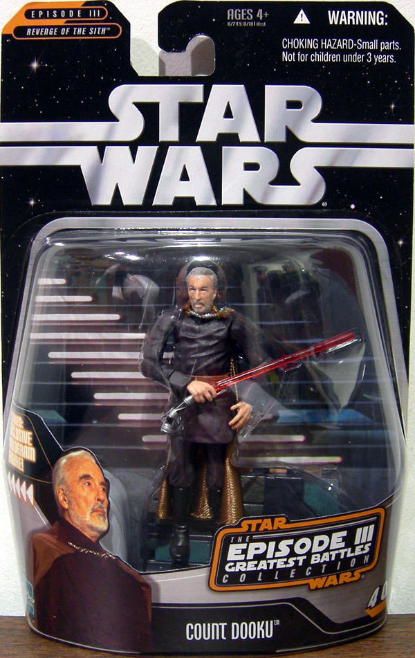 Count Dooku (Episode III Greatest Battles Collection, 4 of 14)