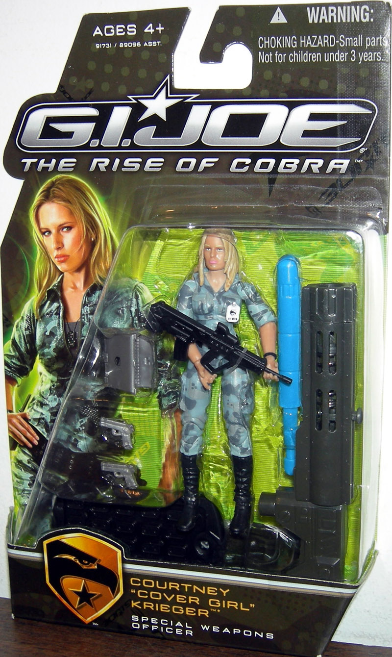 Courtney Cover Girl Krieger Special Weapons Officer, The Rise of Cobra