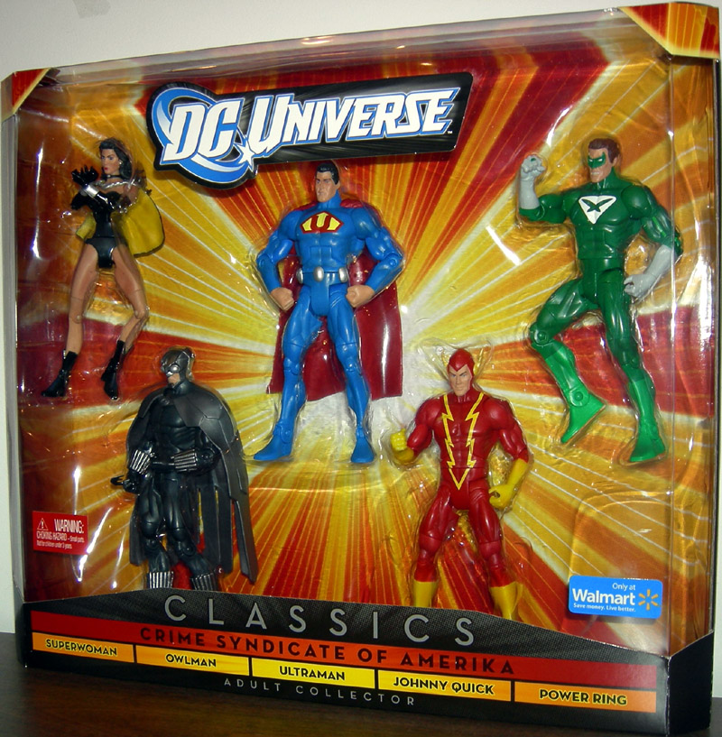 Crime Syndicate of Amerika 5-Pack (DC Universe, Walmart Exclusive)
