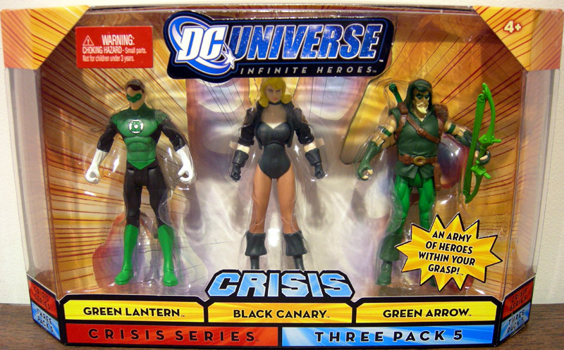 Green Lantern, Black Canary & Green Arrow (Crisis Series 5)