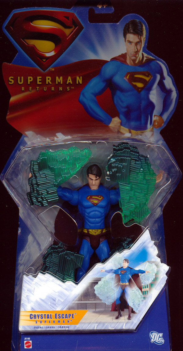 Crystal Escape Superman