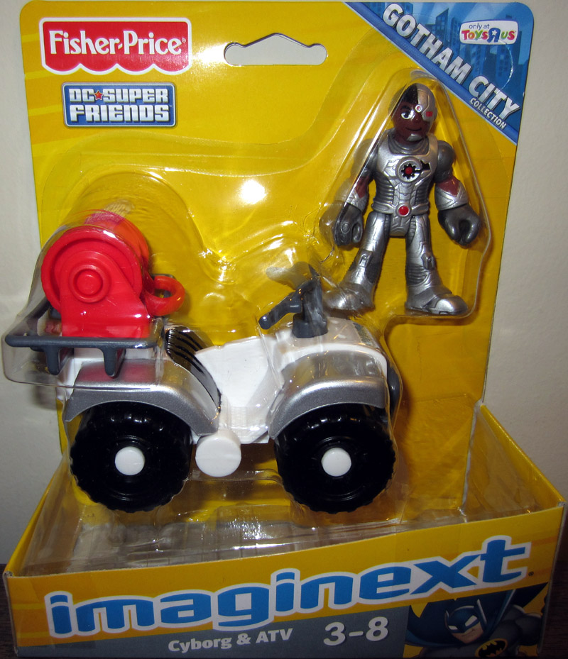 Cyborg & ATV (Imaginext)