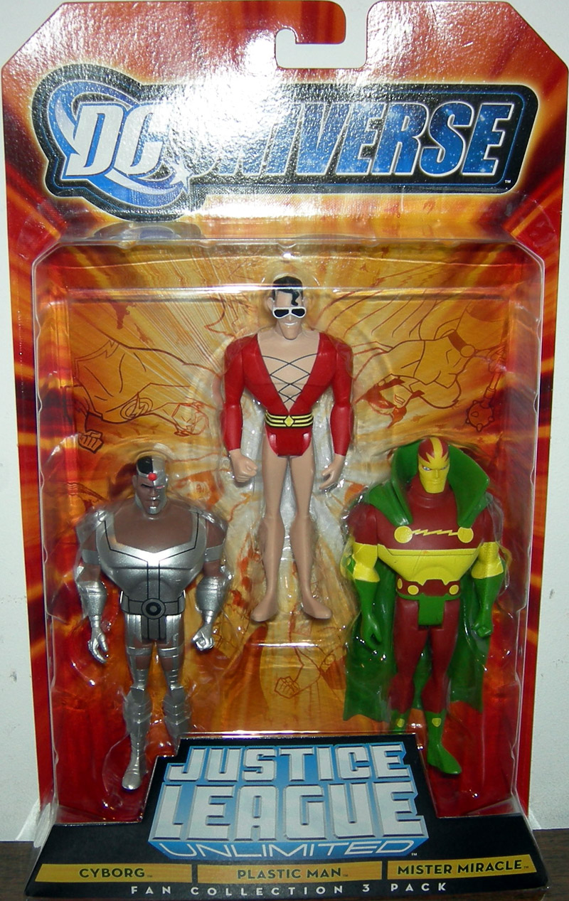 Cyborg  Plastic Man  amp Mister Justice League Unlimited Cyborg