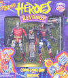 Cyborg Spider-Man and Deathlok