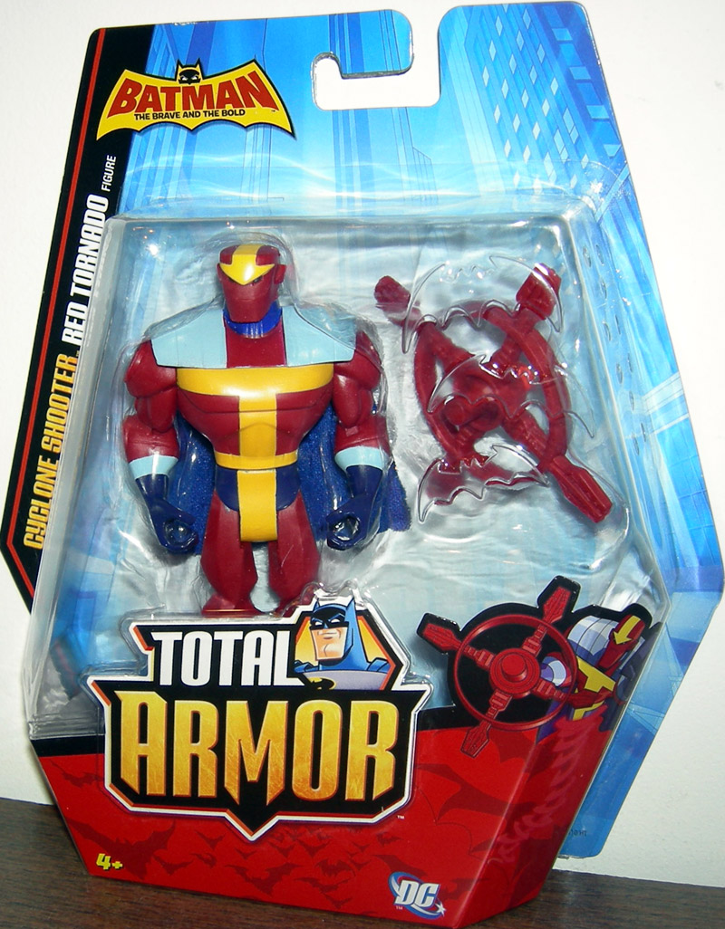 Cyclone Shooter Red Tornado (Total Armor)