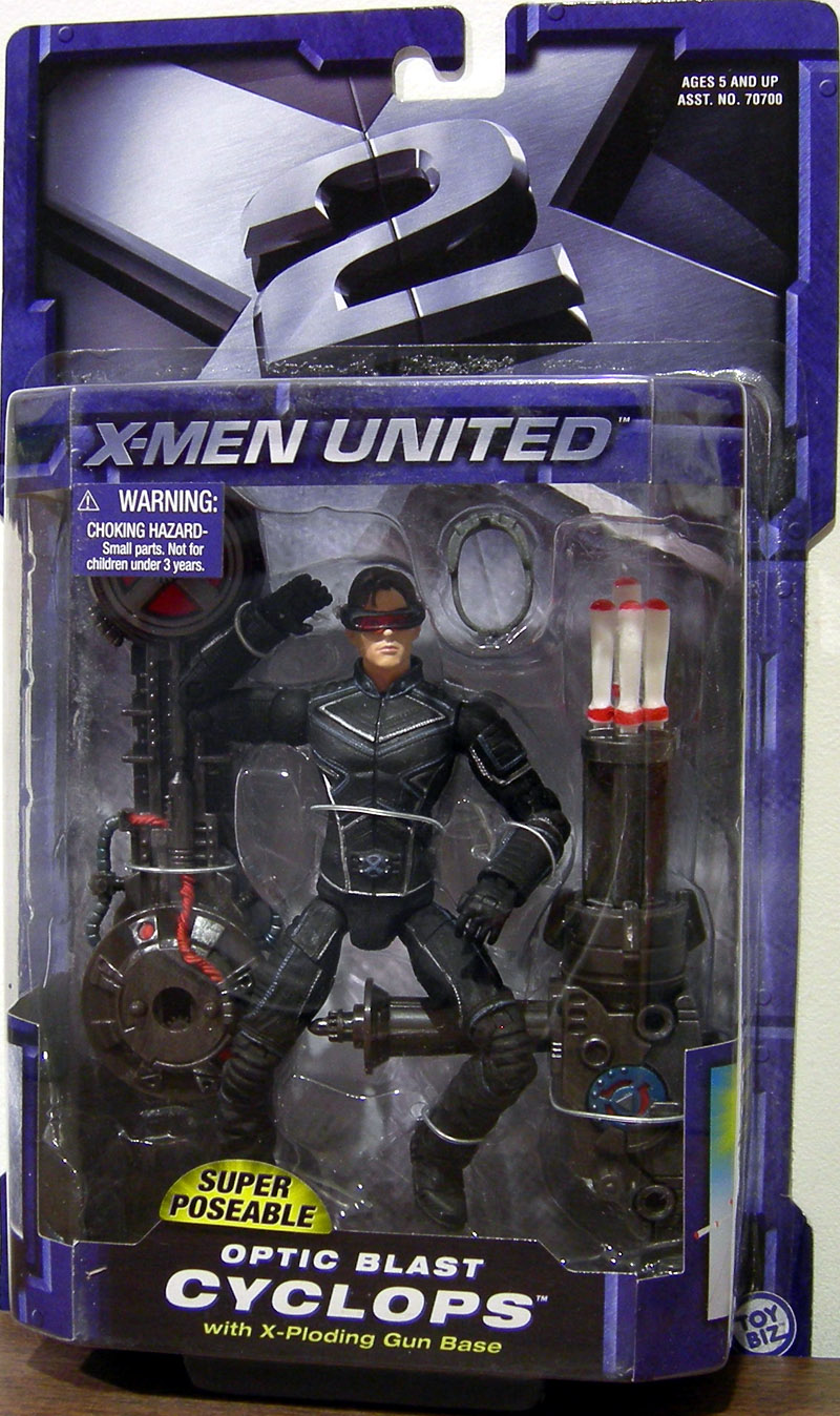 Optic Blast Cyclops (X-Men United)