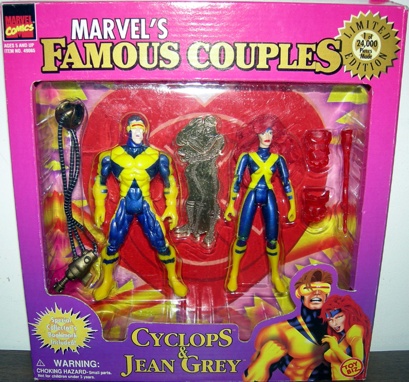 Cyclops & Jean Grey (Famous Couples)