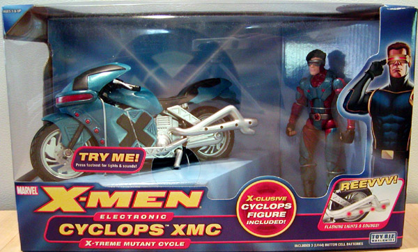Electronic Cyclops XMC Xtreme Mutant Cycle (X-Men)