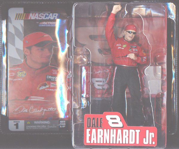 Dale Earnhardt Jr. (with sunglasses)