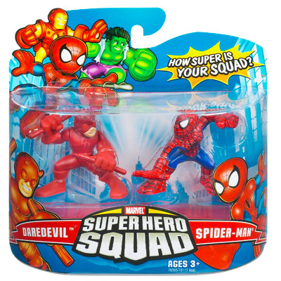 Daredevil & Spider-Man (Super Hero Squad)