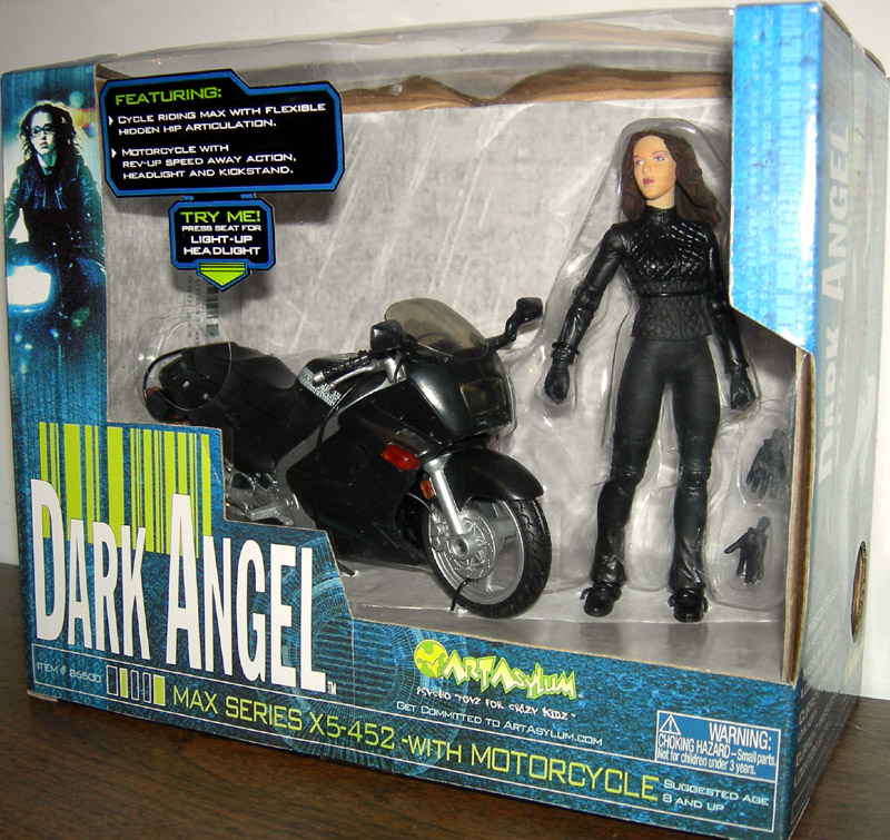 Dark Angel (Max series X5-452 with motorcycle)