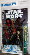 Darth Talon & Cade Skywalker with rifle Star Wars Comic Packs Legacy 2