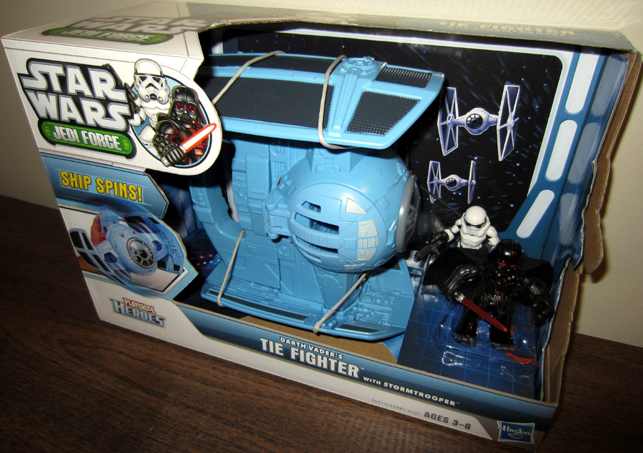 Social Emotional Learning Helps >> Darth Vaders TIE Fighter Playskool Heroes action figure