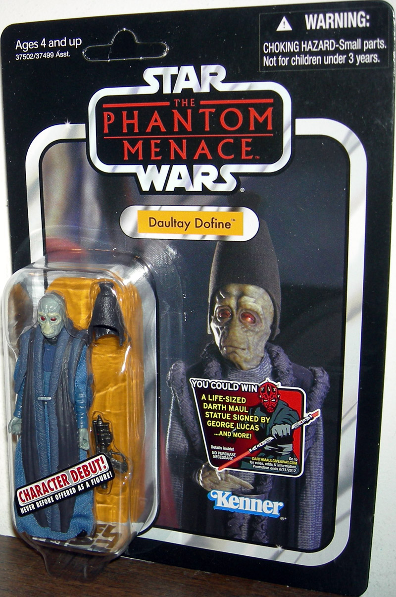 The Phantom Menace Toys : Daultay dofine vc star wars phantom menace action figure