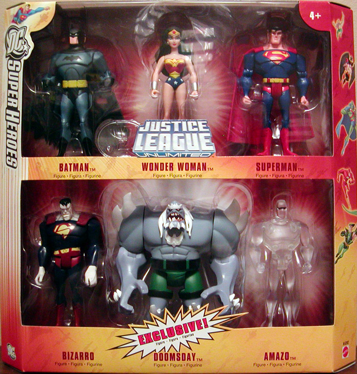 DC SuperHeroes Justice League Unlimited 6-Pack