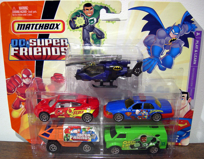 DC Super Friends Matchbox 5-Pack