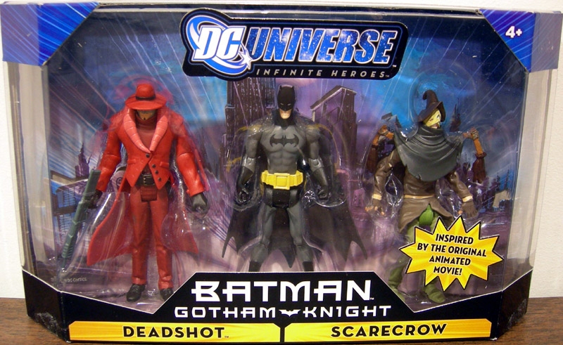 Deadshot, Batman & Scarecrow 3-Pack (Infinite Heroes)