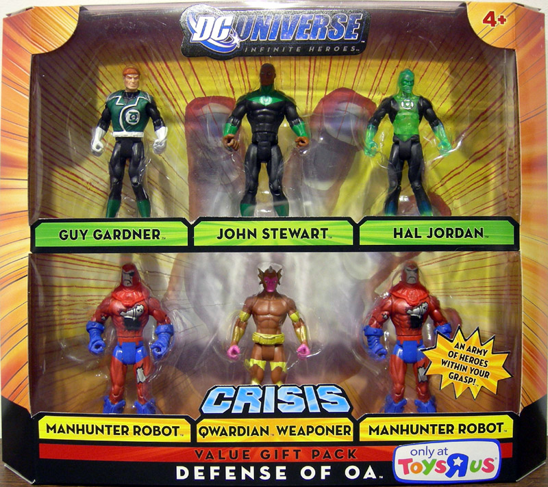 Defense of OA 6-Pack (DC Universe Crisis Value Gift Pack)
