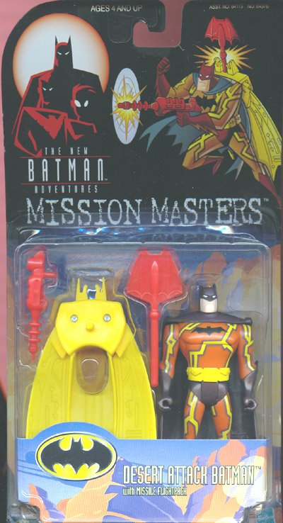 Desert Attack Batman (Mission Masters)