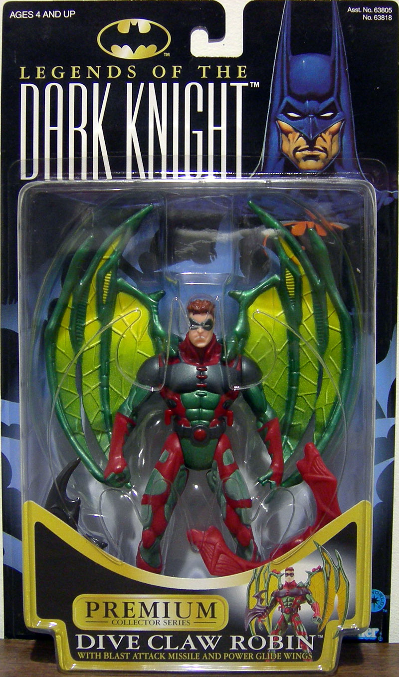Dive Claw Robin (Legends Of The Dark Knight, brown hair)