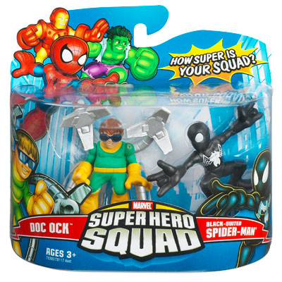 Doc Ock & Black-Suited Spider-Man (Super Hero Squad)