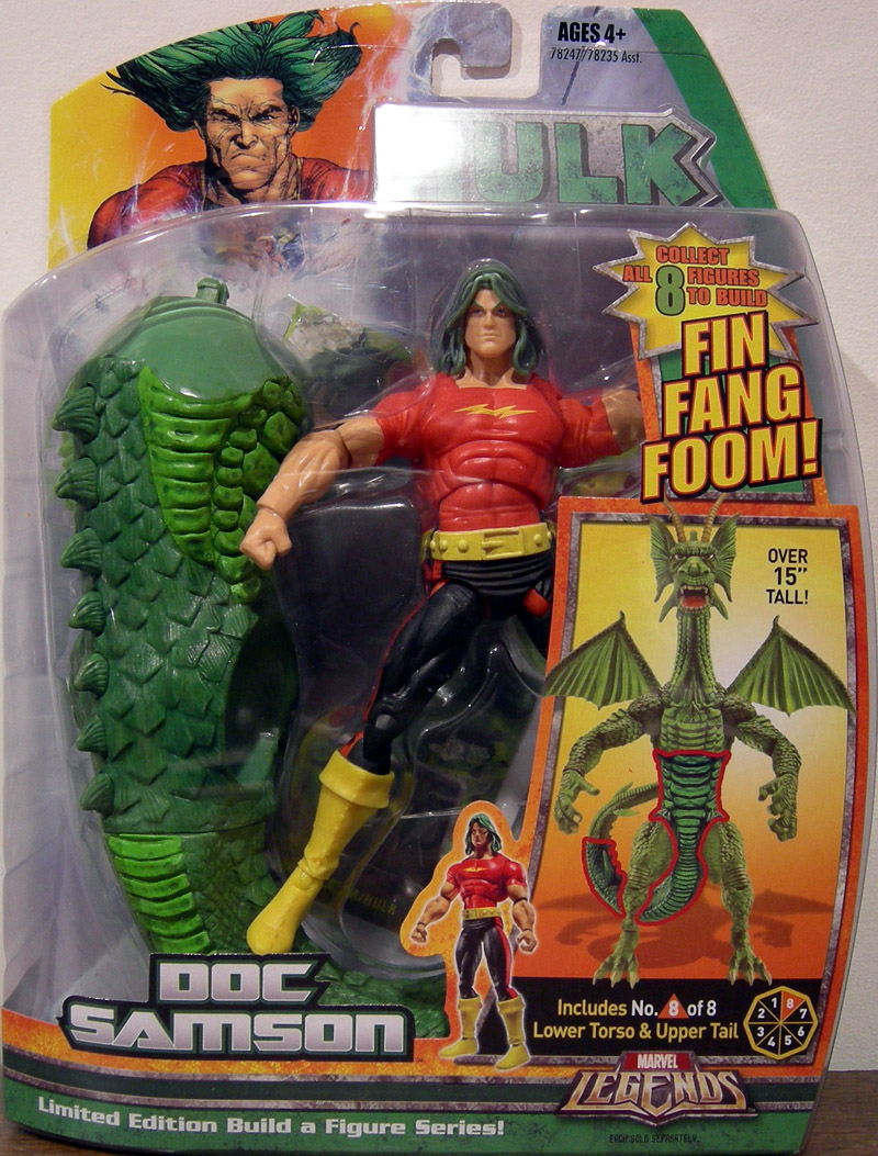 Doc Samson (Marvel Legends Fin Fang Foom series)