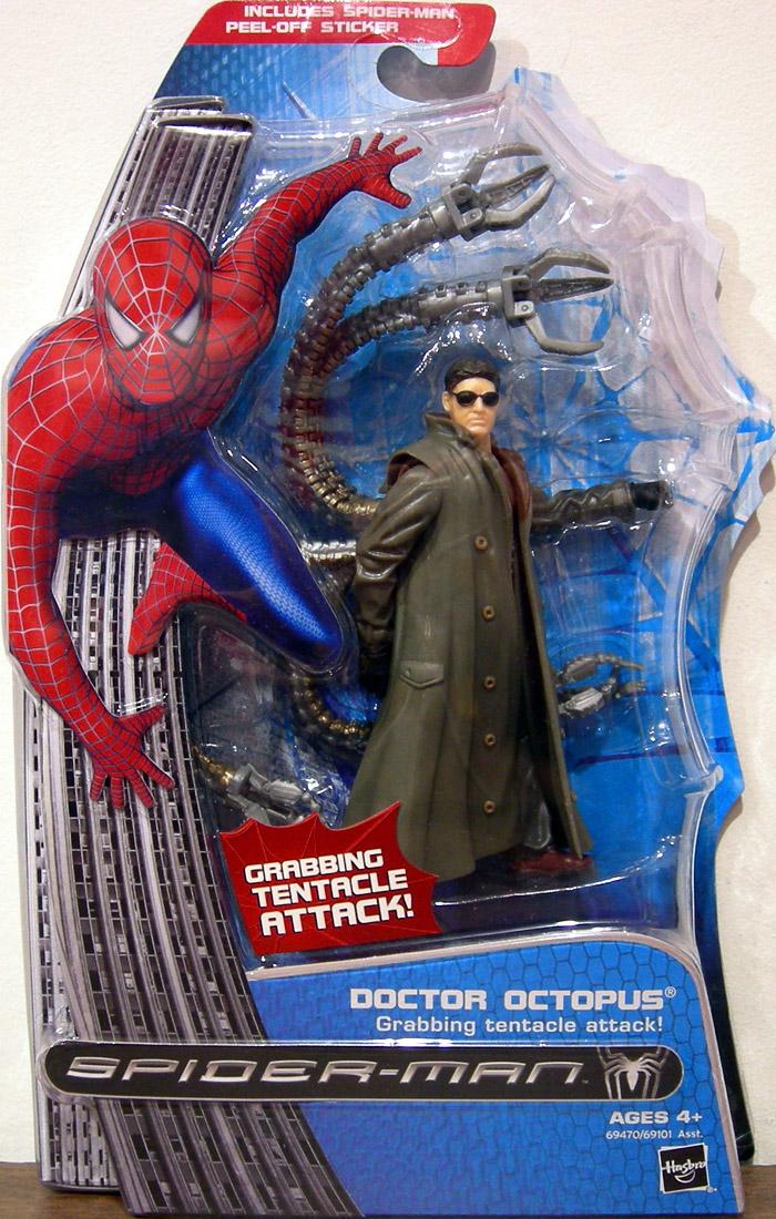 doctor octopus figure spiderman 3 video game hasbro