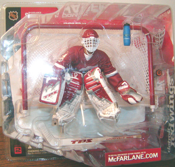 Dominik Hasek (red jersey)