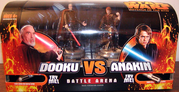 Count Dooku vs. Anakin Skywalker (Trade Federation Cruiser Battle Arena)