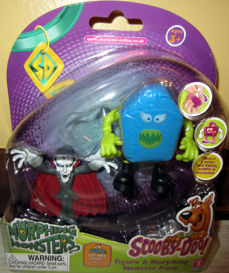 Dracula & Morphing Monster Pack