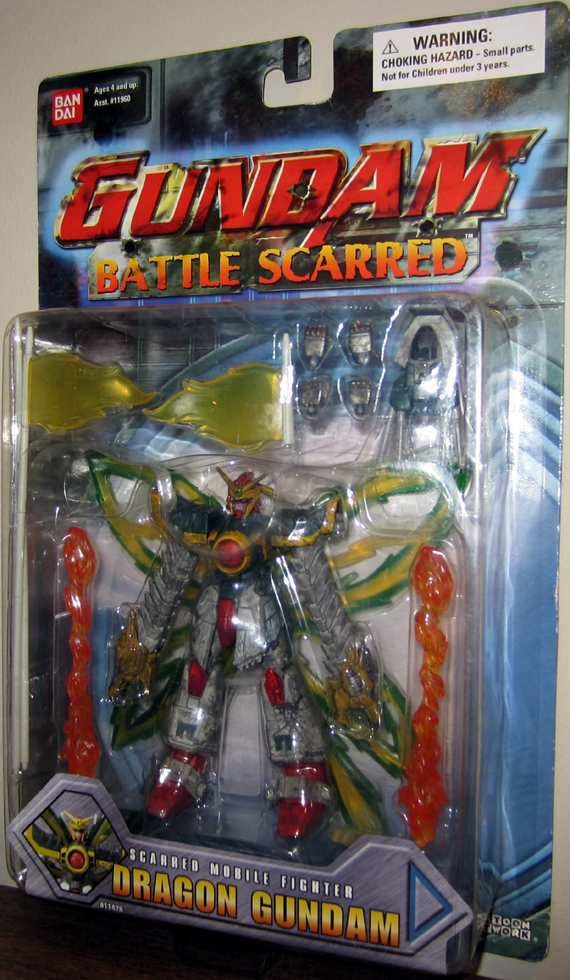 Dragon Gundam (Battle Scarred)