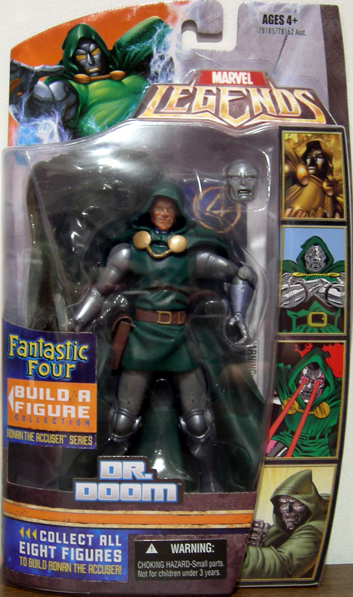 Dr. Doom (Ronan the Accuser Series, unmasked)