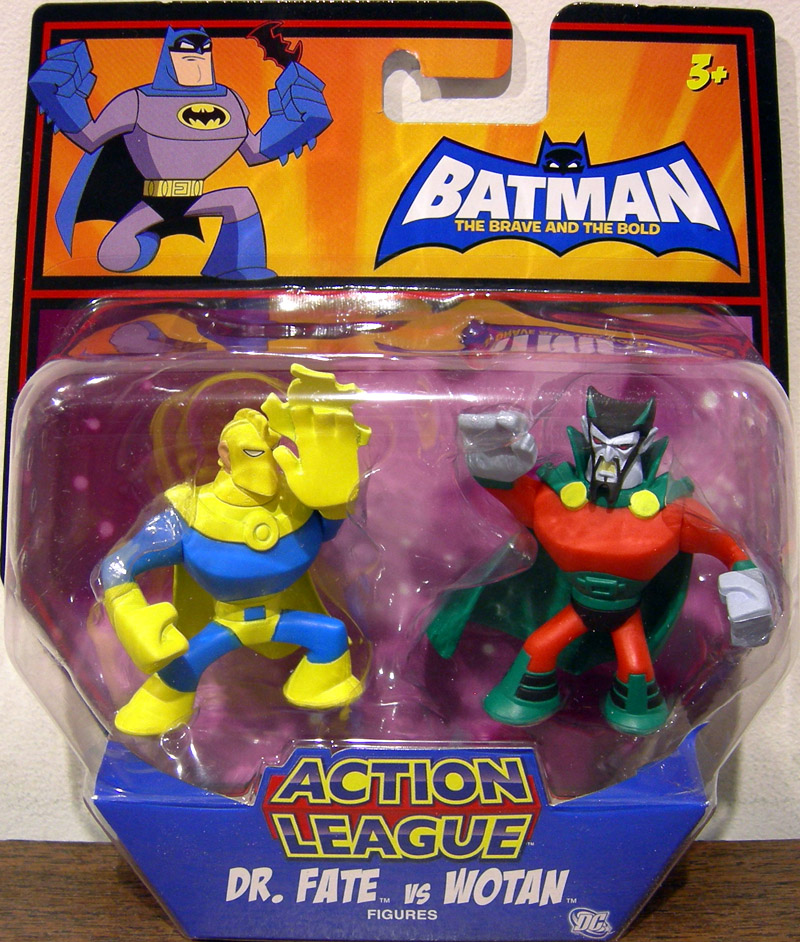 Dr. Fate vs. Wotan (Action League)