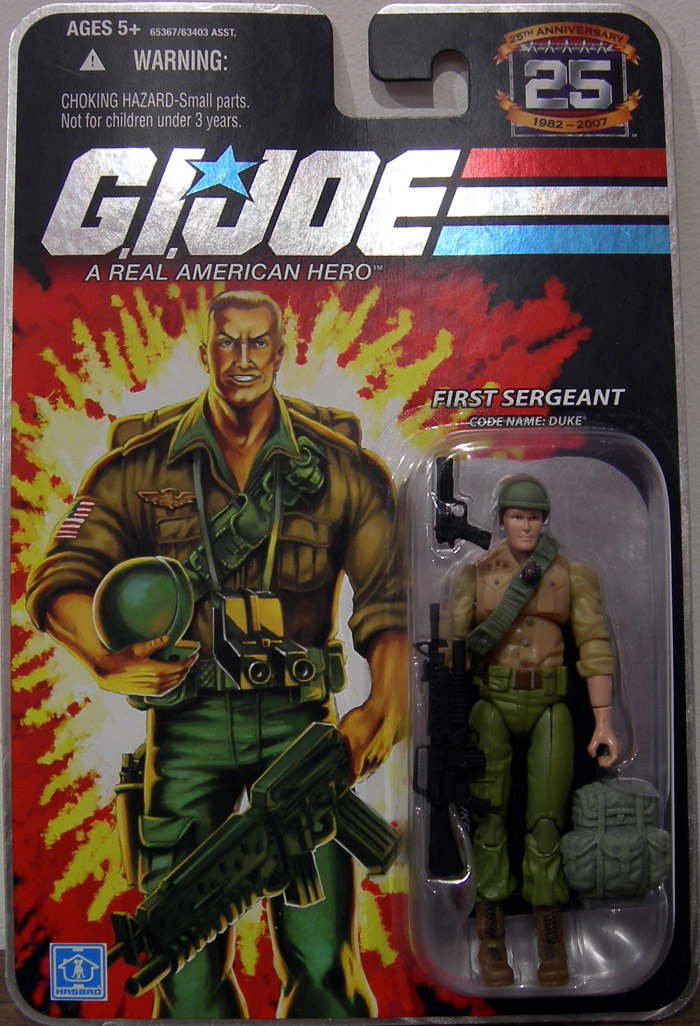 First Sergeant: (Code Name: Duke)