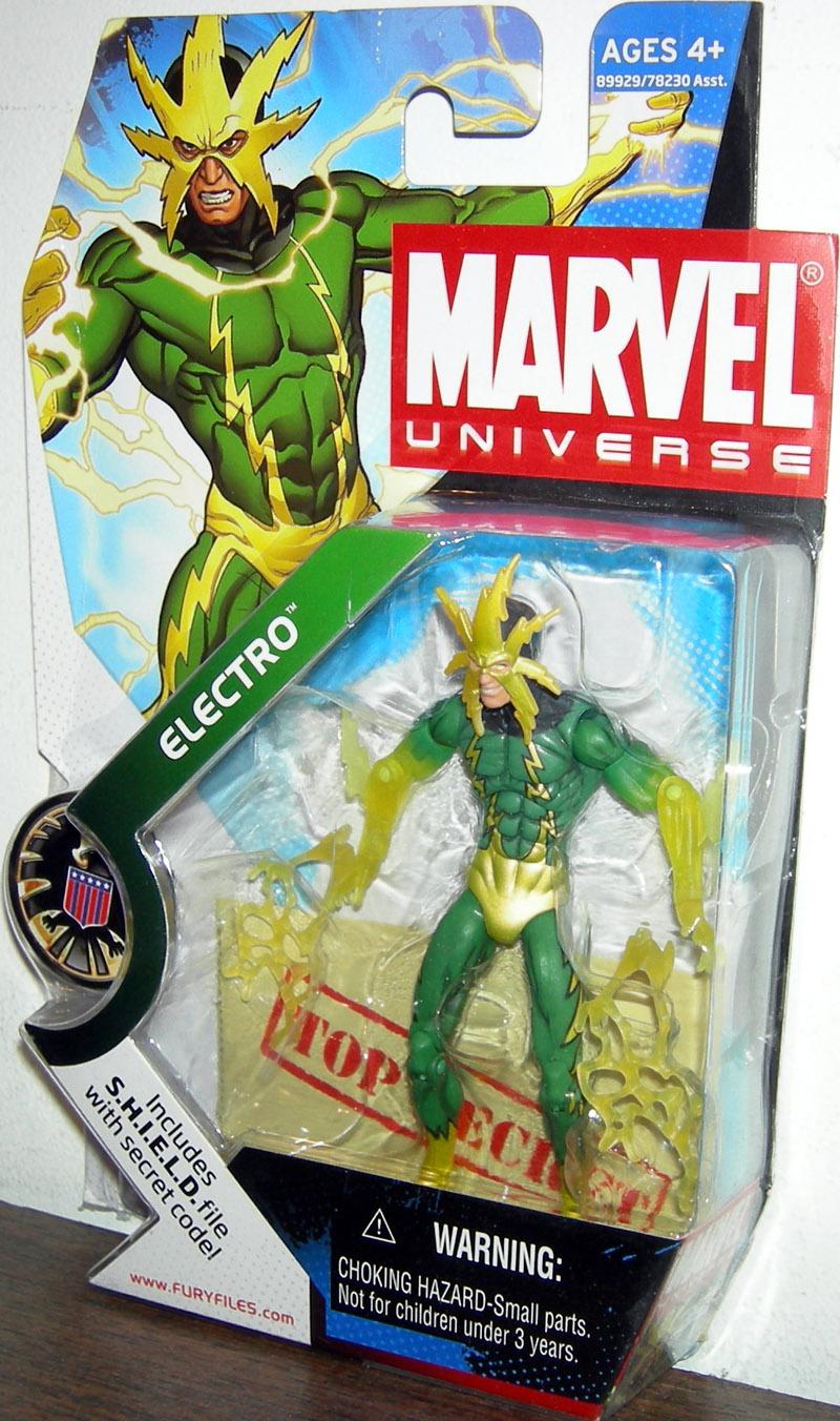 Electro Action Figure Marvel Universe 025 Translucent Variant